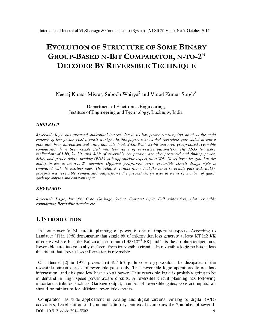 hight resolution of 8 bit min max comparator using novel reversible logic gates download scientific diagram