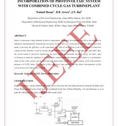 pdf study the effect of temperature control on the performance of the output of combined cycle gas turbine [ 850 x 1202 Pixel ]
