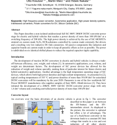 pdf full sic dcdc converter with a power density of more than 100 kw dm3 [ 850 x 1203 Pixel ]