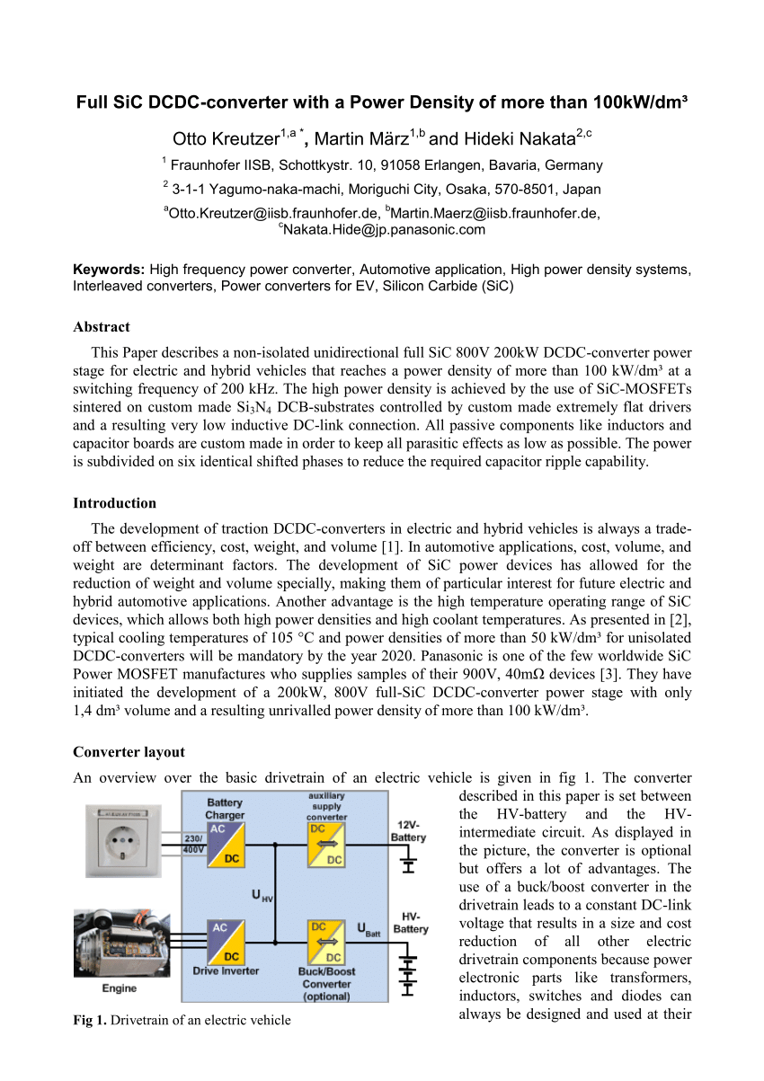 hight resolution of  pdf full sic dcdc converter with a power density of more than 100 kw dm3