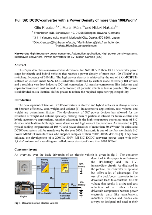 small resolution of  pdf full sic dcdc converter with a power density of more than 100 kw dm3
