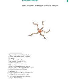 pdf echinodermata in evolutionary developmental biology of invertebrates vol 6 deuterostomia  [ 850 x 1202 Pixel ]