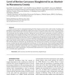 microbiological quality of chilled beef carcasses in northern ireland a baseline survey request pdf [ 850 x 1202 Pixel ]