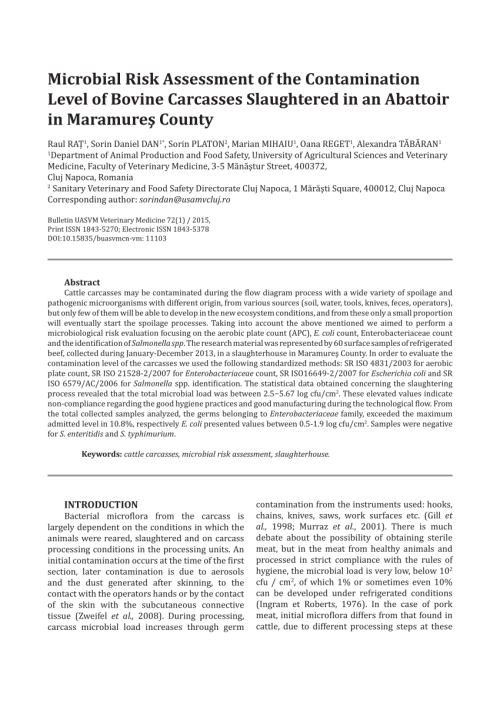 small resolution of microbiological quality of chilled beef carcasses in northern ireland a baseline survey request pdf