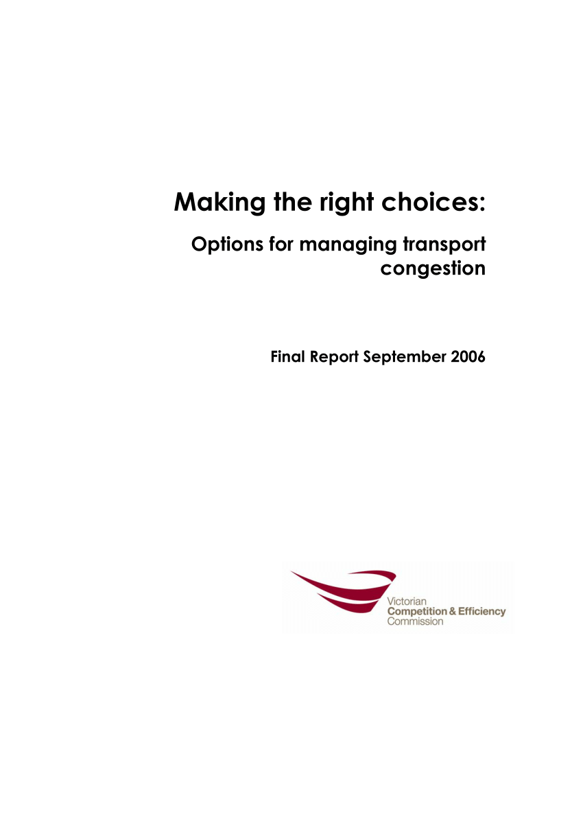 hight resolution of  pdf chapter 7 approaches to tackling congestion international evidence chapter 8 freight traffic congestion