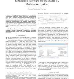 basic isdb t system diagram download scientific diagram [ 850 x 1100 Pixel ]