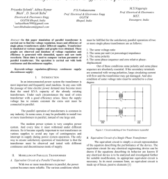 pdf simulation of single phase transformer with different supplies [ 850 x 1203 Pixel ]