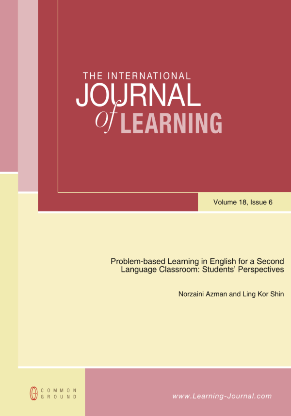 Pdf Problem-based Learning In Esl Classroom Students