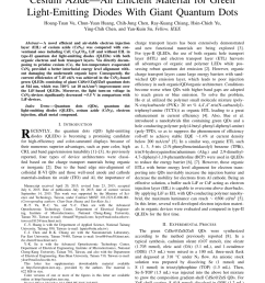 pdf cesium azide an efficient material for green light emitting diodes with giant quantum dots [ 850 x 1100 Pixel ]