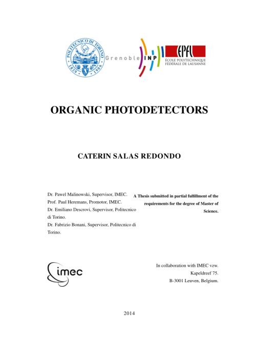 small resolution of  pdf organic photodetectors