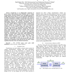 pdf design and analysis of the power electronic transformer for power quality improvement [ 850 x 1203 Pixel ]