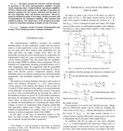 pdf design of current mode instrumentation amplifier for portable biosignal acquisition system [ 850 x 1203 Pixel ]