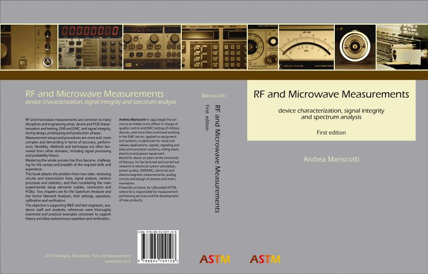 pdf rf and microwave measurements