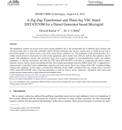 analysis of zig zag transformer applying in the three phase four wire distribution power system hurng liahng jou request pdf [ 850 x 1160 Pixel ]
