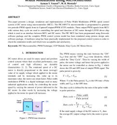 pdf modeling simulation and implementation of brushed dc motor speed control using optical incremental encoder feedback [ 850 x 1202 Pixel ]