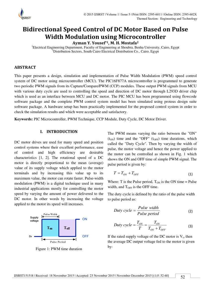 hight resolution of  pdf modeling simulation and implementation of brushed dc motor speed control using optical incremental encoder feedback