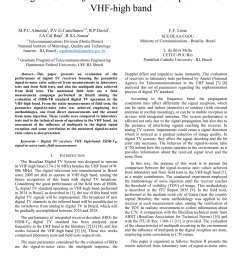 pdf experimental analysis of the signal to noise ratio of digital isdb tb tv receivers and multipath in the vhf high band [ 850 x 1203 Pixel ]