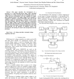 pdf development of a microcontroller based ac voltage controller with soft start capability [ 850 x 1203 Pixel ]