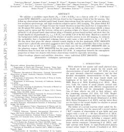 pdf a disintegrating minor planet transiting a white dwarf [ 850 x 1203 Pixel ]