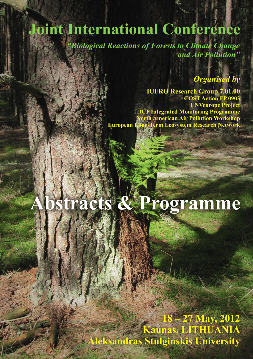 hight resolution of  pdf phytophthora spp in decidous trees in lithuania preliminary results