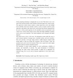 ladder logic computer aided design java applet download scientific diagram [ 850 x 1203 Pixel ]