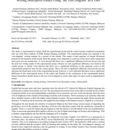 pdf writing descriptive essays using the tree diagram as a tool [ 850 x 1155 Pixel ]