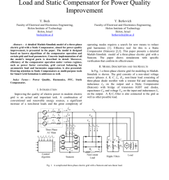 pdf matlab simulink model of ac grid with non linear load and static compensator for power quality improvement [ 850 x 1203 Pixel ]