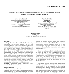 pdf investigation of asymmetrical configurations for piezoelectric energy harvesting from fluid flow [ 850 x 1100 Pixel ]
