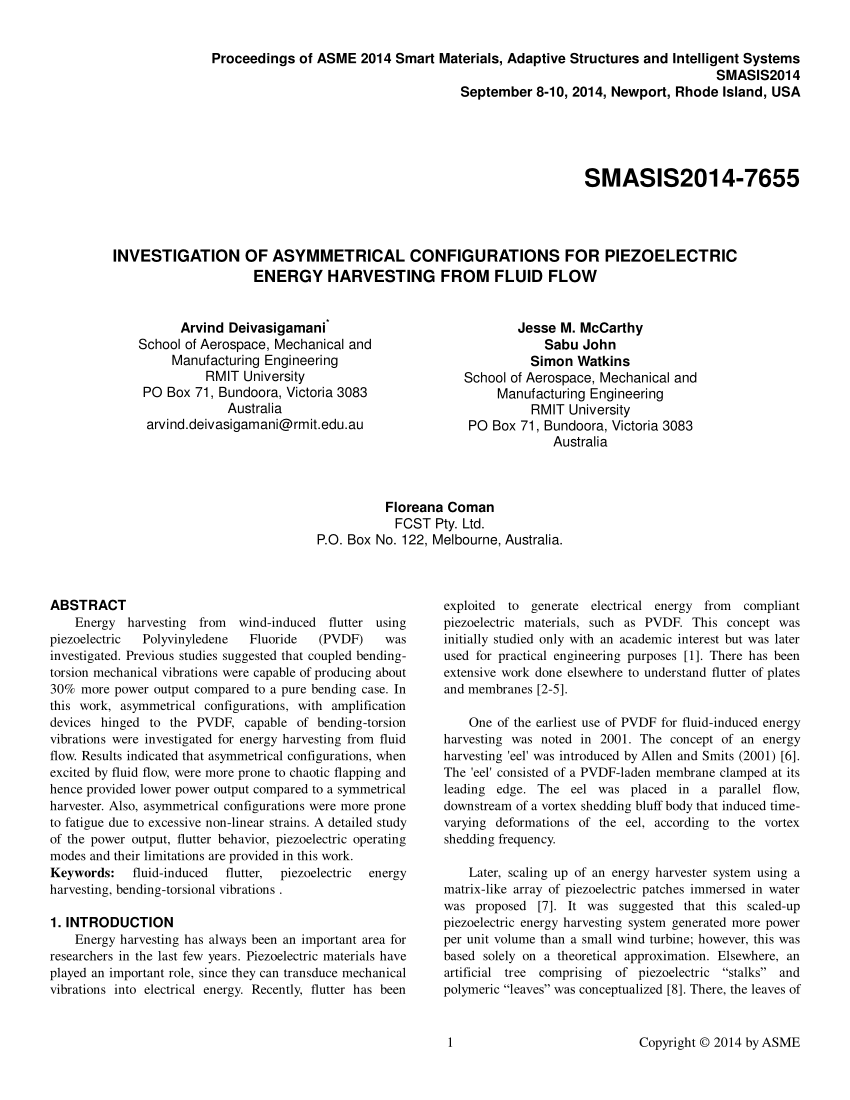 hight resolution of  pdf investigation of asymmetrical configurations for piezoelectric energy harvesting from fluid flow