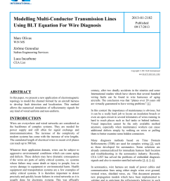 pdf modelling multi conductor transmission lines using blt equation wire harness protector google patente on definition of wiring harness [ 850 x 1100 Pixel ]