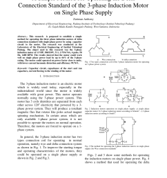 pdf a simple method for operating the delta connection standard of the 3 phase induction motor on single phase supply [ 850 x 1100 Pixel ]