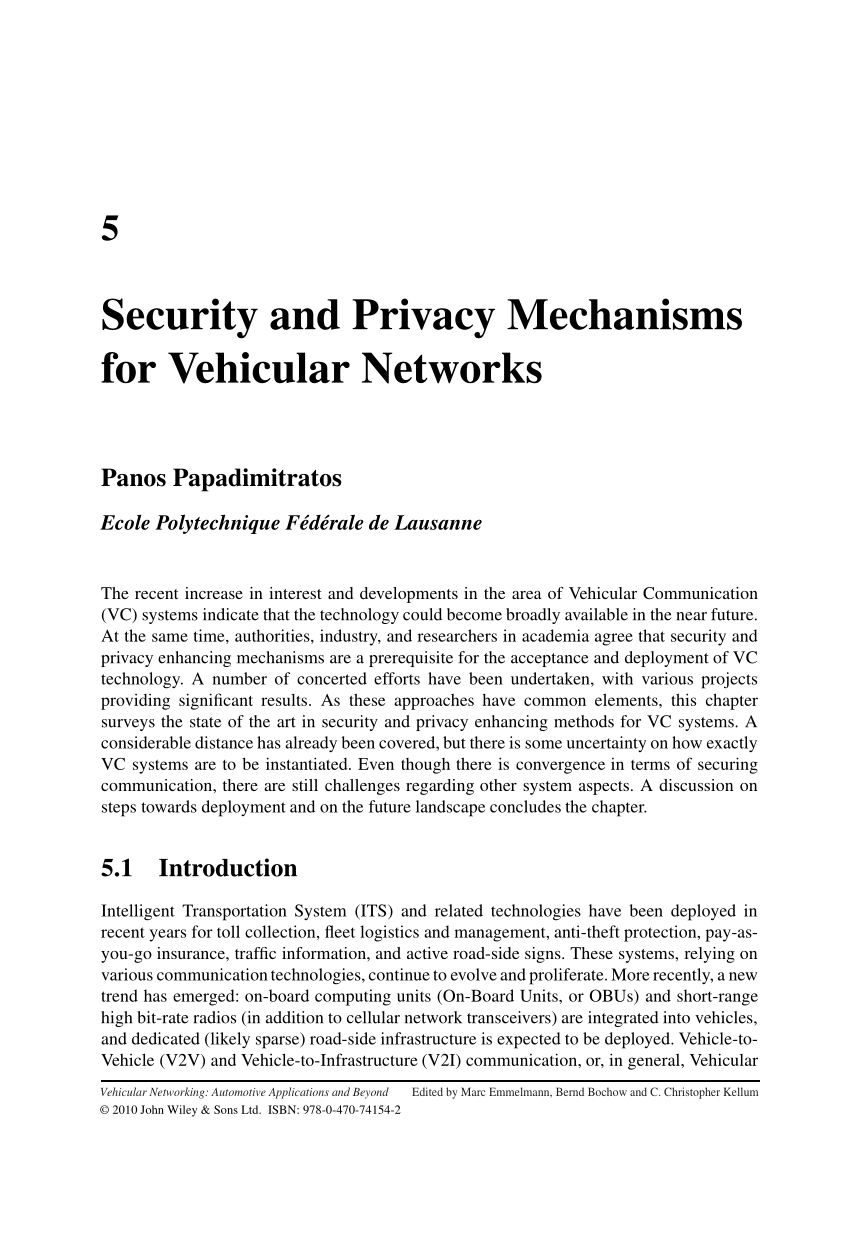 medium resolution of biometrics based data link layer anonymous authentication in vanets request pdf