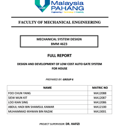 pdf design and development of low cost auto gate system for house part 5 [ 850 x 1202 Pixel ]