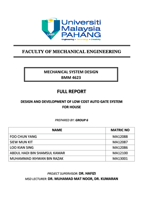 small resolution of  pdf design and development of low cost auto gate system for house part 5