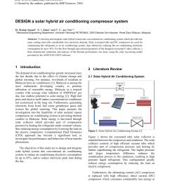 pdf design a solar hybrid air conditioning compressor system [ 850 x 1203 Pixel ]