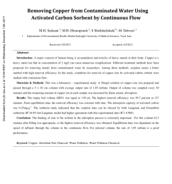 pdf trace level determination of u zn cd pb and cu in drinking water samples [ 850 x 1202 Pixel ]
