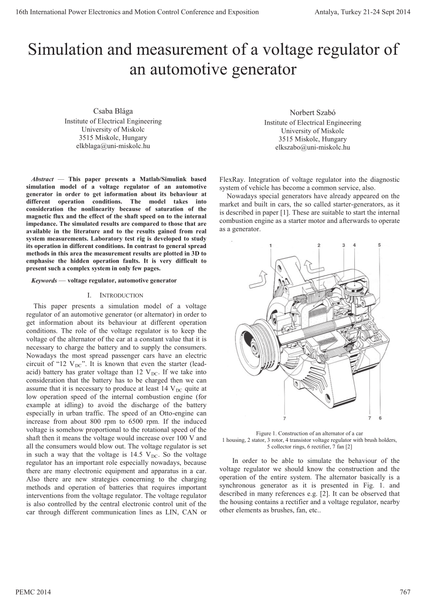 hight resolution of  pdf integrated starter generators for automotive applications