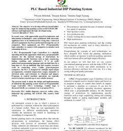 pdf plc based industrial dip painting system [ 850 x 1202 Pixel ]