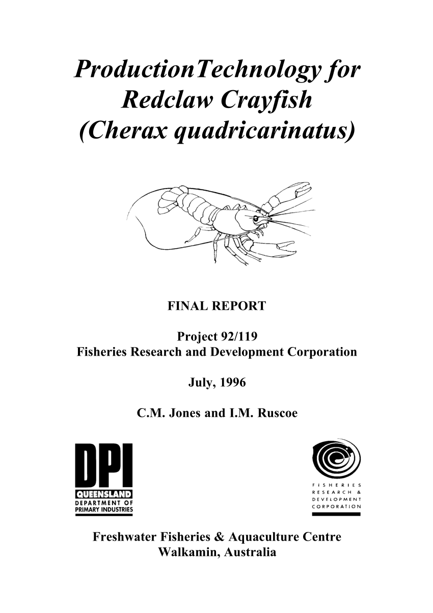 medium resolution of selection for increased weight at 9 months in redclaw crayfish cherax quadricarinatus cameron p mcphee request pdf