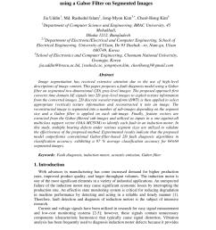 pdf gabor wavelets in image processing [ 850 x 1202 Pixel ]