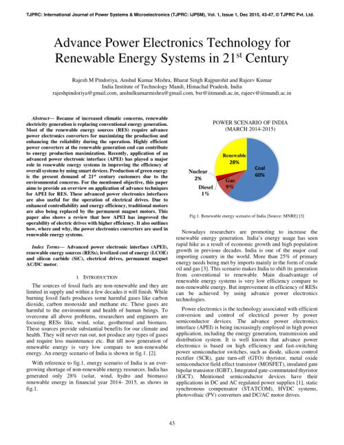 small resolution of  pdf advance power electronics technology for renewable energy systems in 21st century