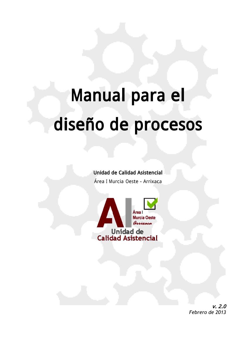 (PDF) Manual para el diseño de procesos en el Área 1