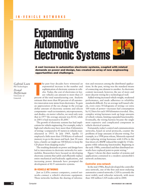 small resolution of  pdf expanding automotive electronic systems