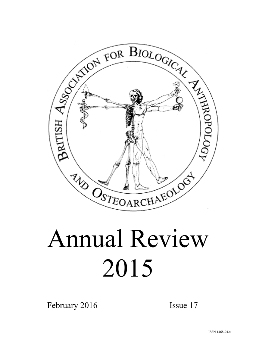 (PDF) Summary of PhD project in the BABAO 2015 Annual Review.