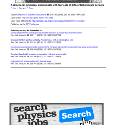 pdf a directional cylindrical anemometer with four sets of differential pressure sensors [ 850 x 1134 Pixel ]
