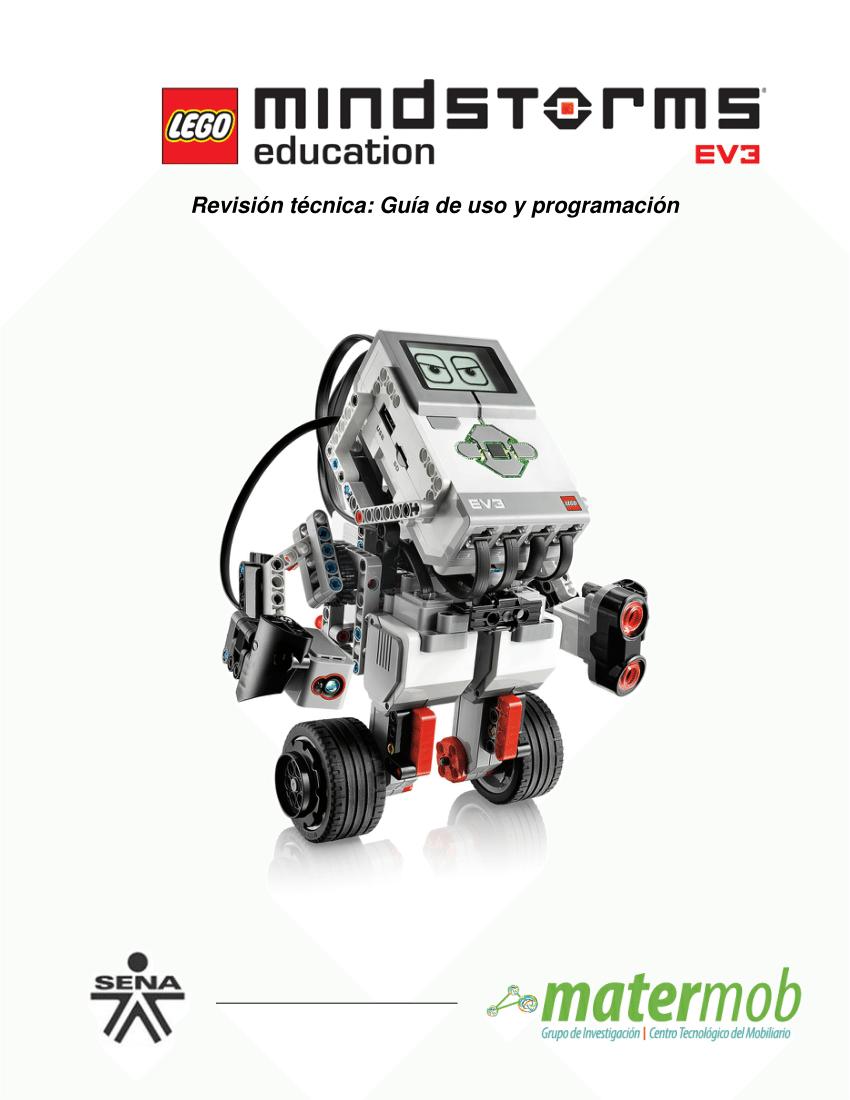 (PDF) LEGO® MINDSTORMS® EDUCATION EV3, Revisión técnica