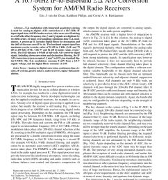 simplified block diagram of an am fm radio with digital audio signal download scientific diagram [ 850 x 1100 Pixel ]