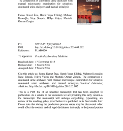 pdf preliminary evaluation of the iris iq 200 automated urine analyser [ 850 x 1203 Pixel ]