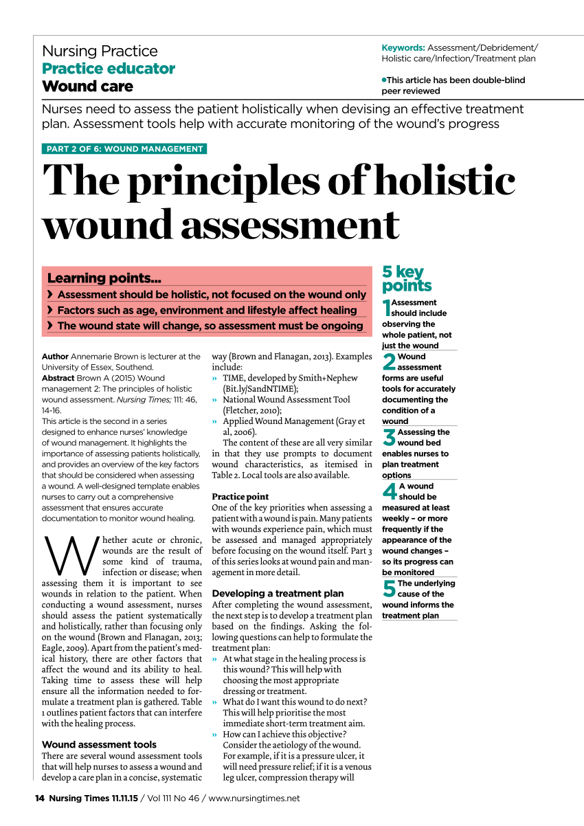 wound assessment diagram fender hss stratocaster wiring nurse www bellissimonyc com pdf the principles of holistic rh researchgate net template
