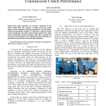 Pdf The Study Of The Automatic Manual Truck Transmission Clutch Performance